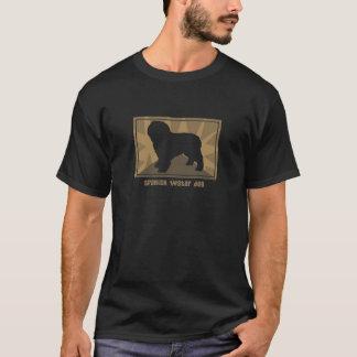 Perro de agua español terroso camiseta