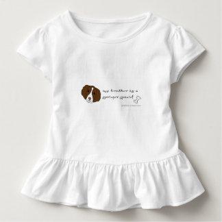 perro de aguas de saltador camiseta de bebé