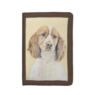 Perro de aguas de saltador inglés que pinta arte