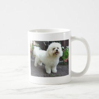 Perro de Bichon Frisé Taza De Café