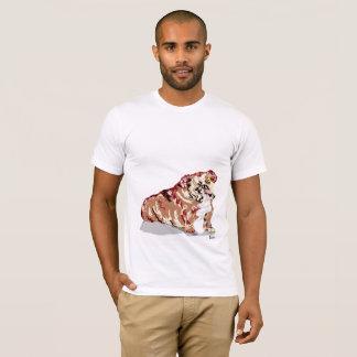 Perro de Bull del inglés de la camiseta - añada en