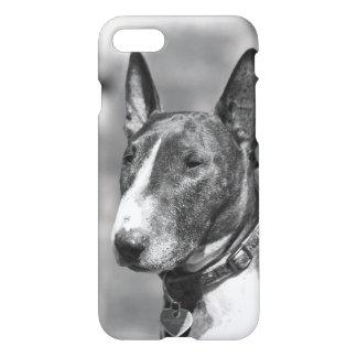 Perro de bull terrier funda para iPhone 7
