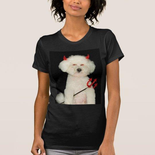 perro de diablo camiseta