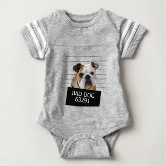 Perro de la cama - dogo body para bebé