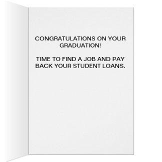 perro de la graduación con la tarjeta del gorra