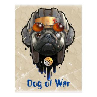 perro de la guerra postal
