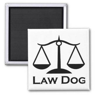 Perro de la ley imán de nevera