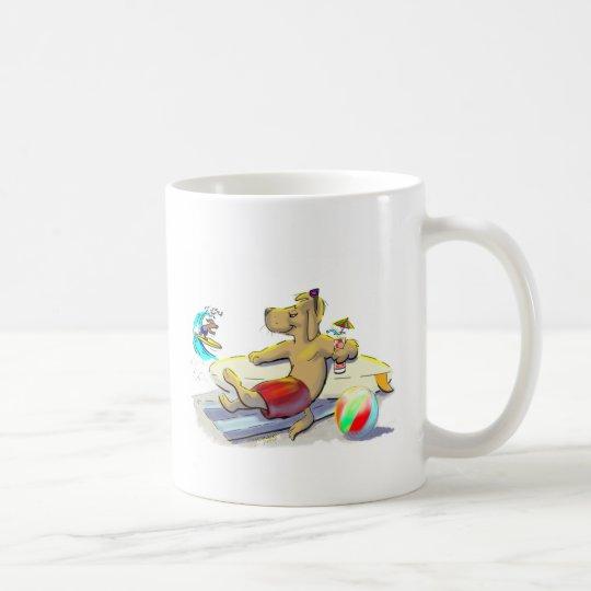 perro de la resaca taza de café