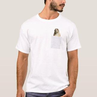 Perro de las praderas en mi camiseta divertida del