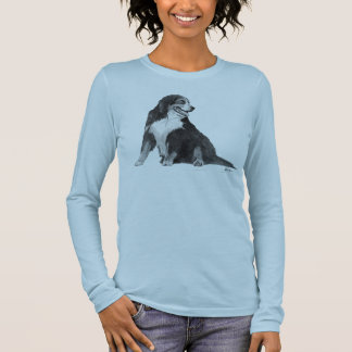 Perro de montaña de Bernese Camiseta De Manga Larga