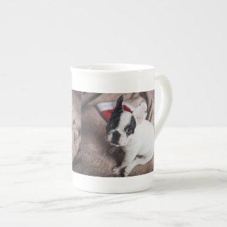 Perro de Papá Noel - barro amasado divertido - Taza De Té
