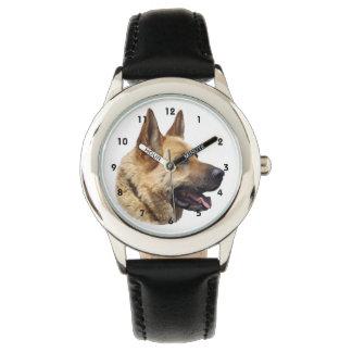 Perro de pastor alemán Alsatian Reloj