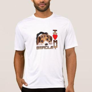 Perro de perrito del beagle camiseta