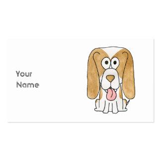 Perro de perrito del beagle plantillas de tarjetas personales