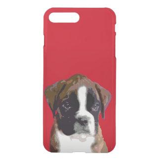 Perro de perrito del boxeador funda para iPhone 8 plus/7 plus
