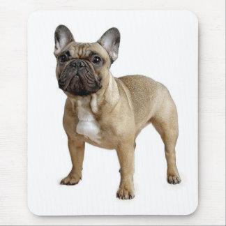 Perro de perrito del dogo francés del amor Mousepa Tapetes De Ratones