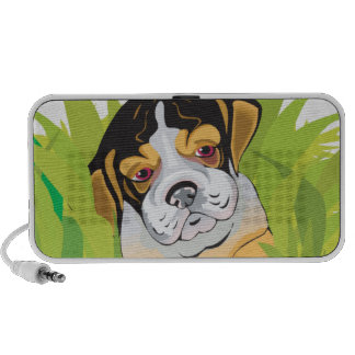 perro de perrito lindo del beagle portátil altavoz