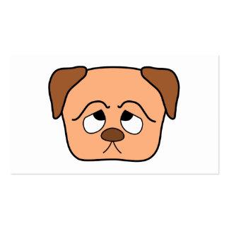 Perro de perrito lindo plantillas de tarjetas personales