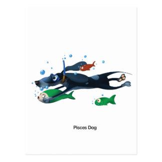 Perro de Piscis Postal