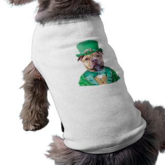 Perro de Pitbull del irlandés Camisetas De Perro