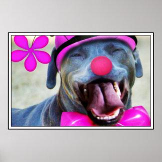 Perro de risa posters
