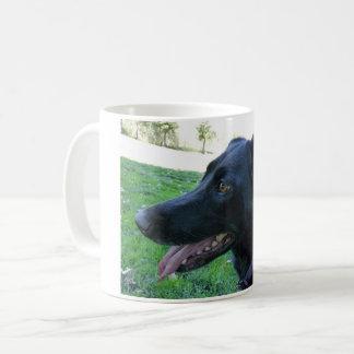 perro del café taza de café