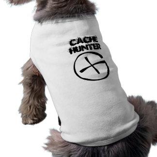 Perro del cazador del escondrijo camiseta sin mangas para perro