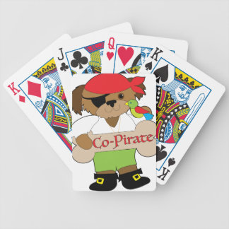 Perro del Co-Pirata Baraja De Cartas Bicycle