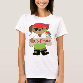 Perro del Co-Pirata Camiseta