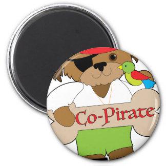 Perro del Co-Pirata Imanes