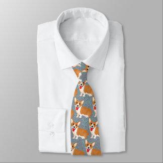 perro del corgi corbatas