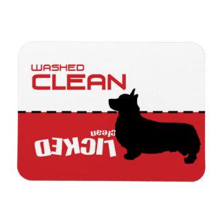 Perro del Corgi, imán del lavaplatos del perrito -