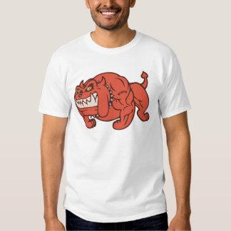 Perro del demonio camisetas