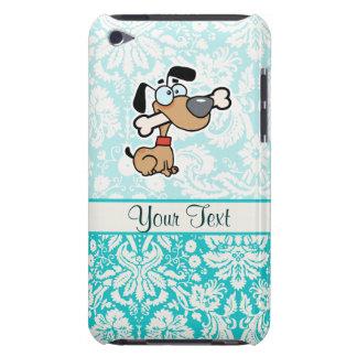 Perro del dibujo animado; Lindo iPod Touch Case-Mate Cárcasas
