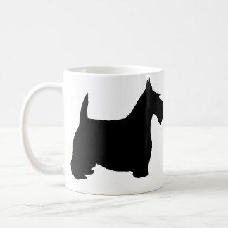 Perro del escocés taza de café