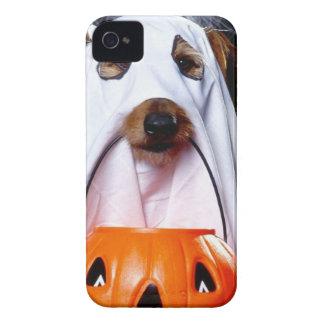 Perro del fantasma - perro divertido - persiga carcasa para iPhone 4