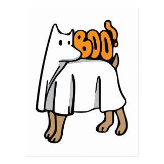 Perro del fantasma postal