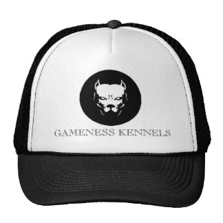 Perro del logotipo de Pitbull, PERRERAS del GAMENE Gorros