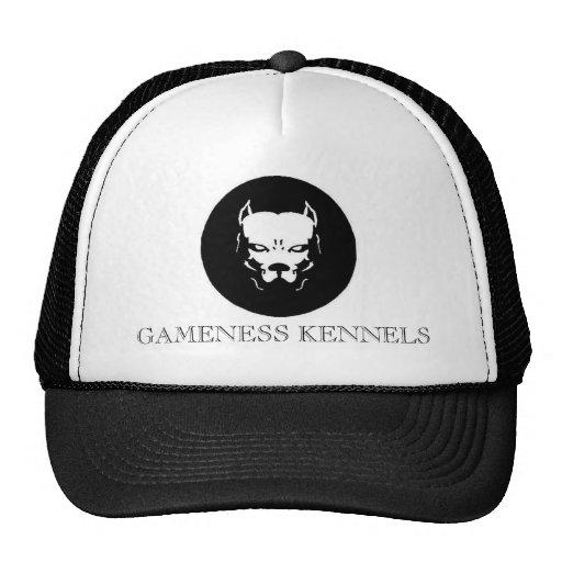 Perro del logotipo de Pitbull, PERRERAS del GAMENE Gorras