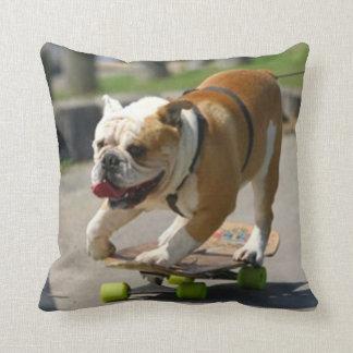 Perro del patinador - almohada