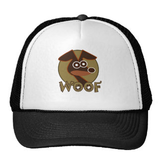 Perro del tejido gorras de camionero