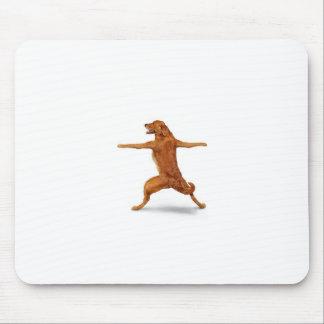 Perro divertido alfombrilla de ratón