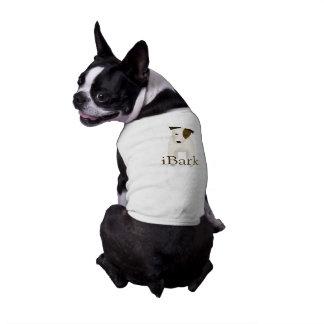 perro divertido del iBark de Jack Russell Terrier