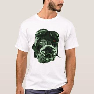 Perro divertido del inconformista camiseta