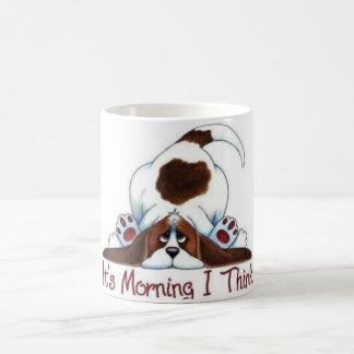 Perro en una taza - mañana mareada