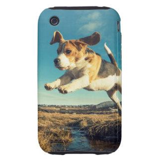 Perro estupendo del beagle - caso del iPhone Carcasa Though Para iPhone 3