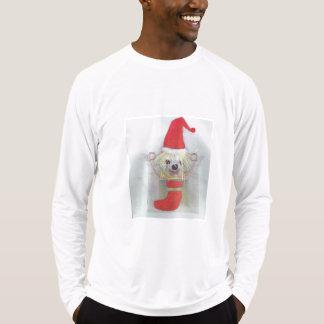Perro feo del suéter del navidad