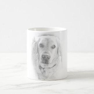 Perro labrador taza *grau