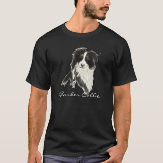 Perro o del border collie camiseta