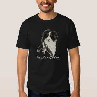 Perro o del border collie camisetas